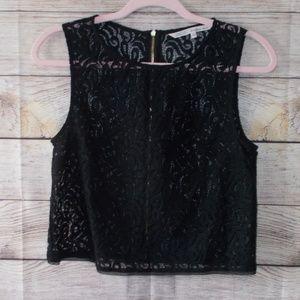 Rachel Rachel Roy Sheer Crop Top Size 4
